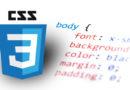 CSS prefixes